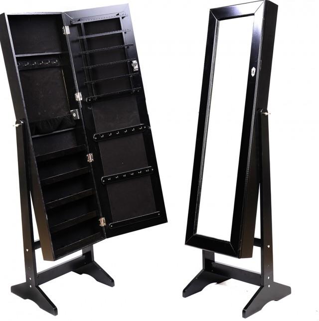Stand Up Jewelry Box Mirror