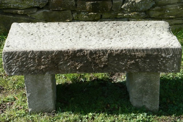Stone Garden Bench Images