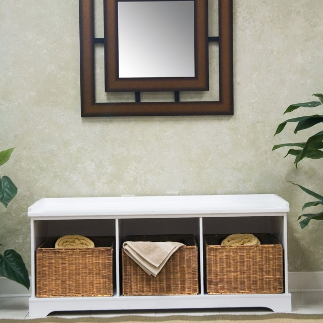 Storage Bench With Baskets Ikea