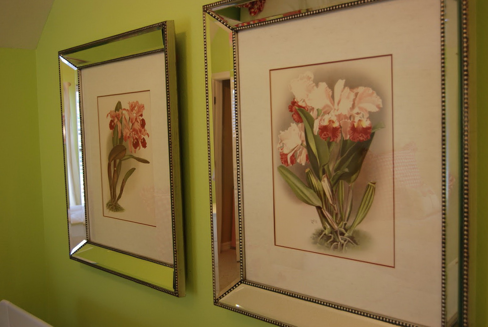 Tahari Mirrored Picture Frames