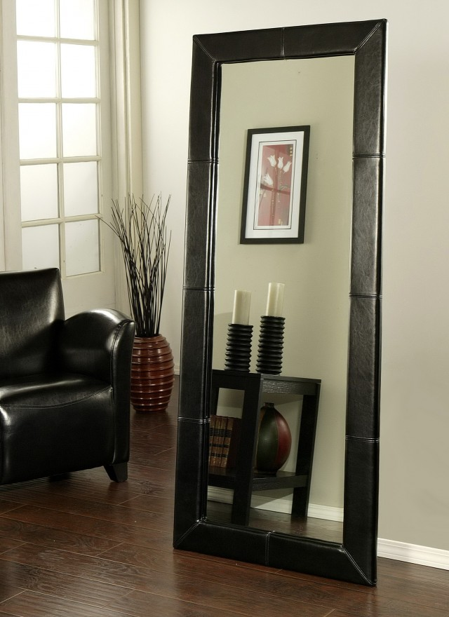 Tall Black Framed Mirror