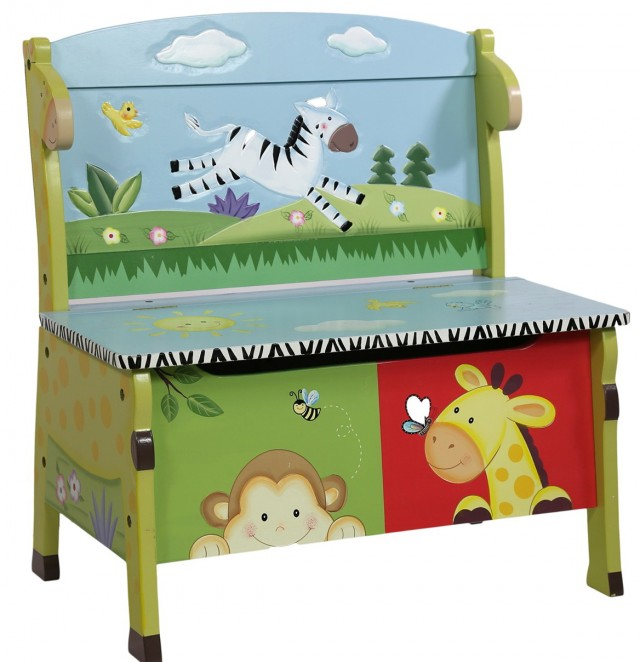 Toy Storage Bench Uk