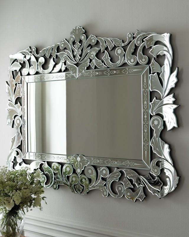 Venetian Glass Mirrors Bathroom