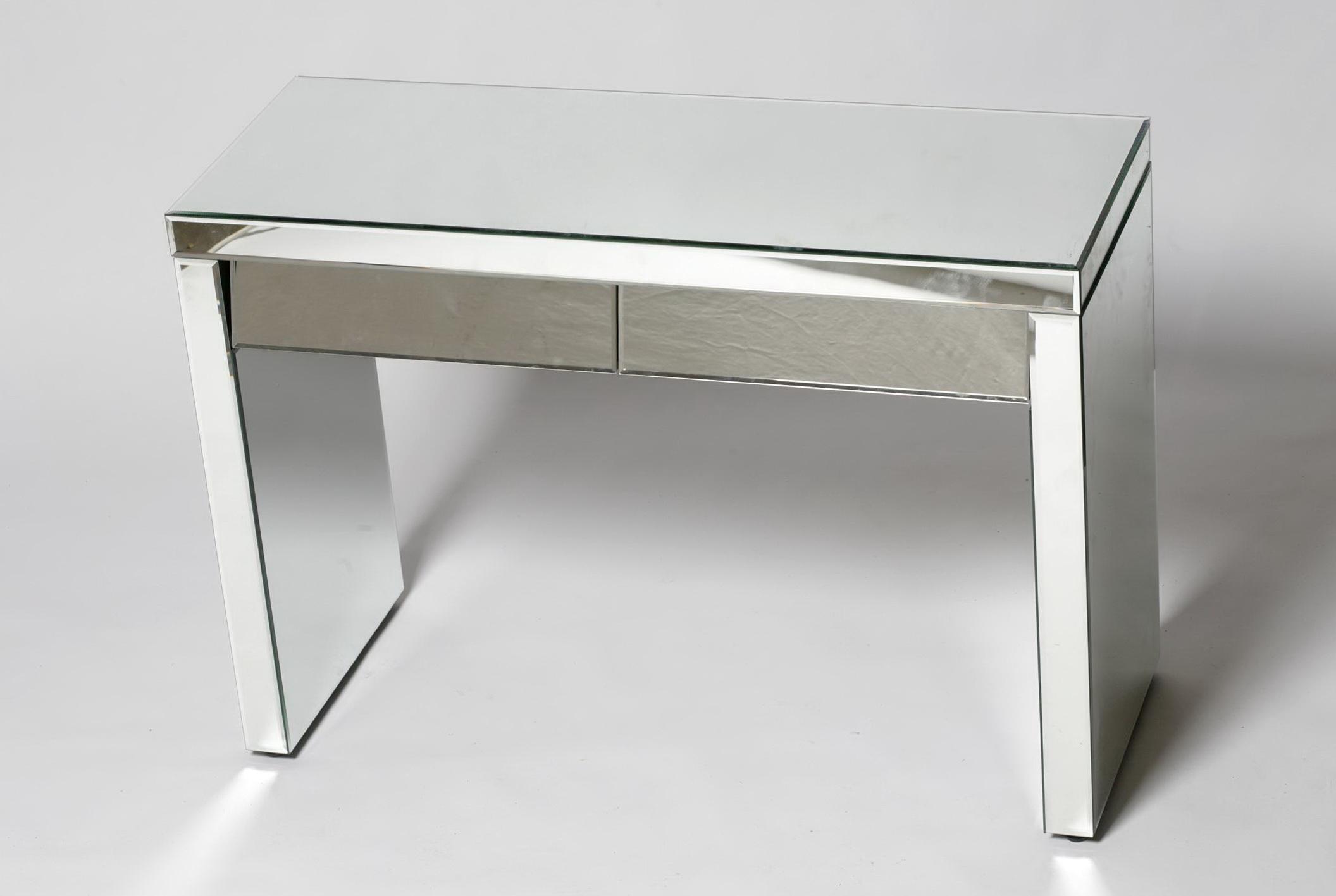Venetian Mirrored Glass Coffee Table
