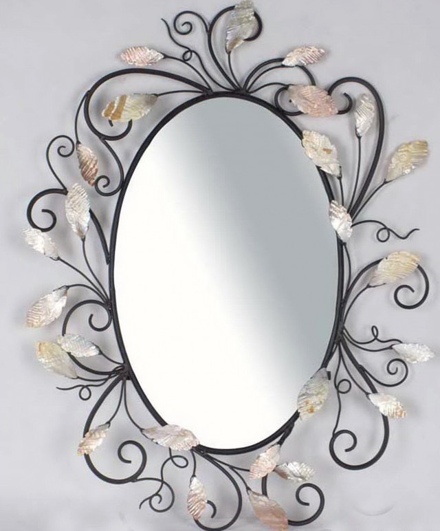 Victorian Oval Wall Mirror