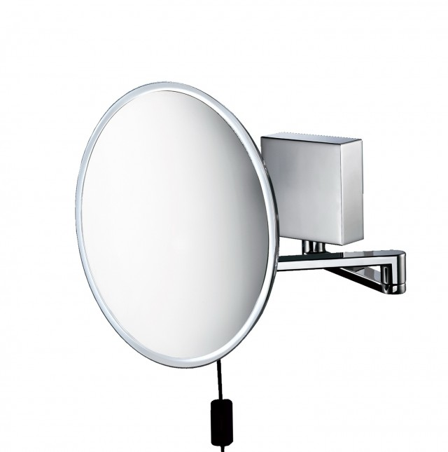 Wall Mounted Lighted Makeup Mirror 8x