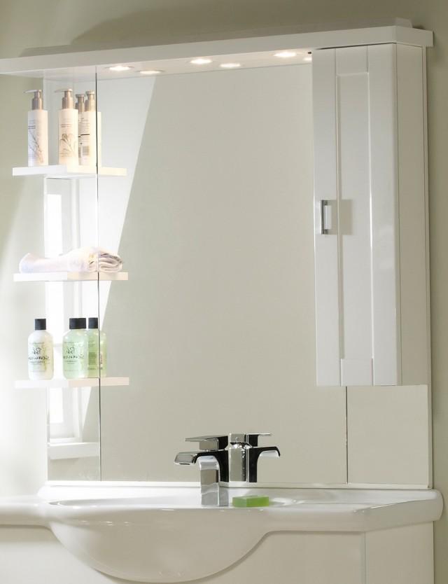 White Bathroom Mirrors Sale