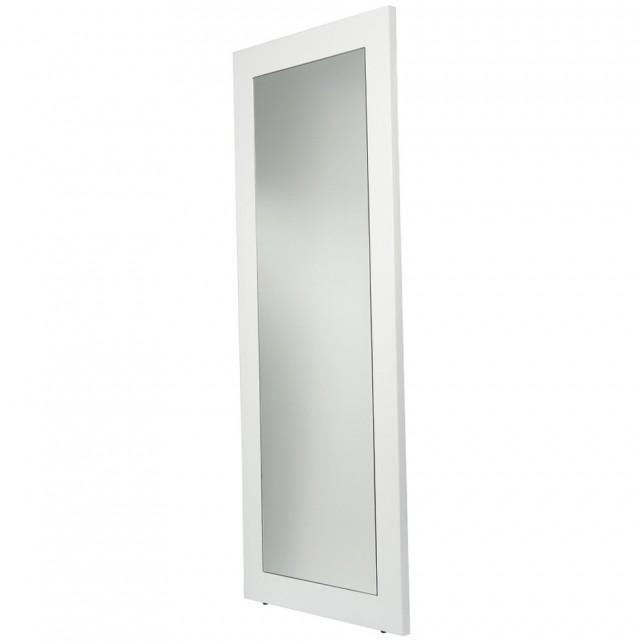 White Floor Mirror With Storage