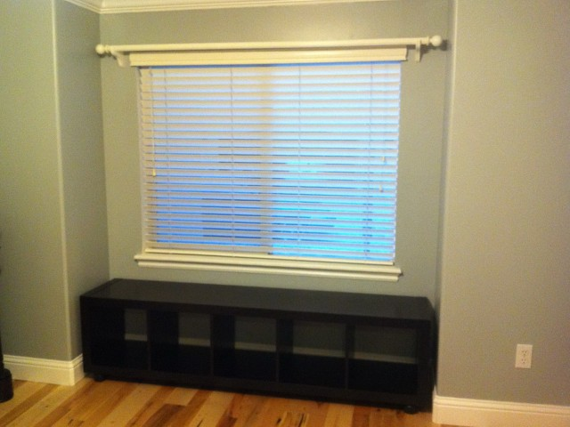 Window Bench Seat With Bookshelves