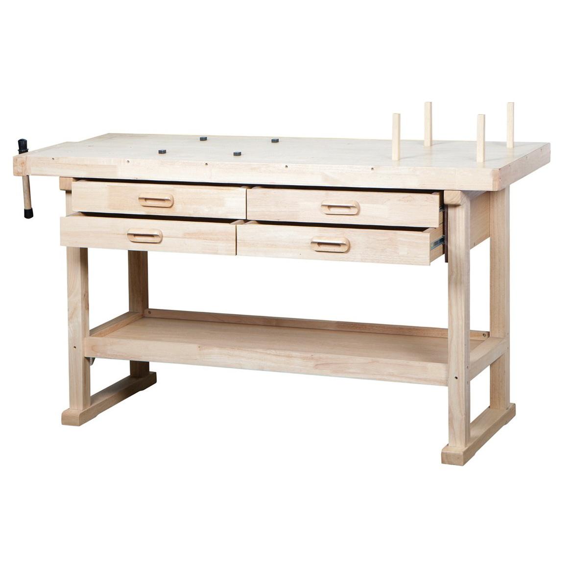 Wooden Work Bench Diy