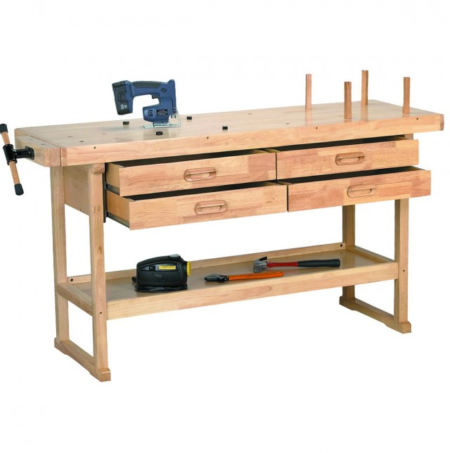 Wooden Work Bench For Sale