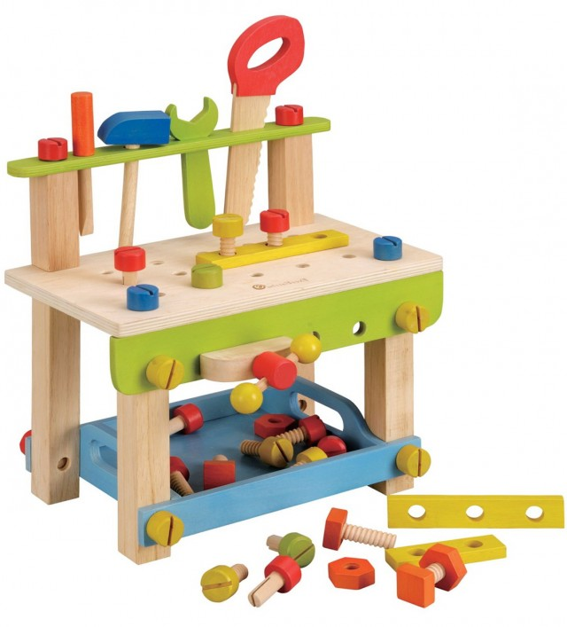 Wooden Work Bench Kids
