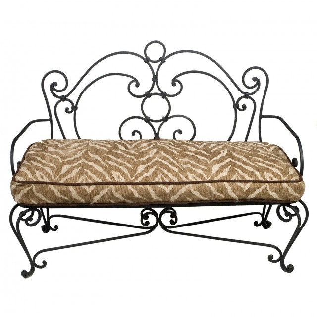 Wrought Iron Benches And Chairs