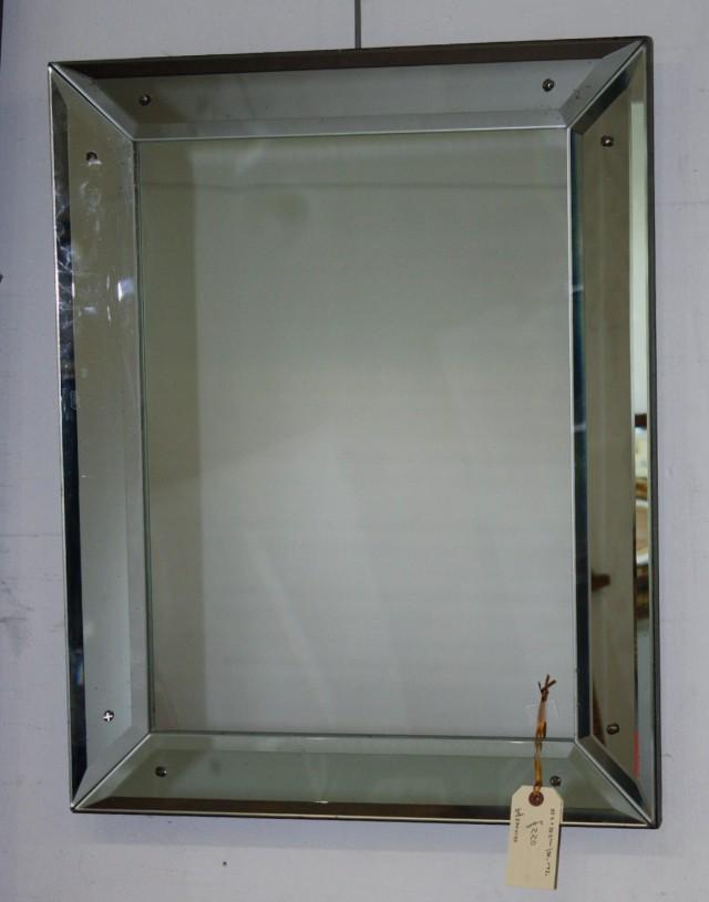 Antique Beveled Glass Mirror