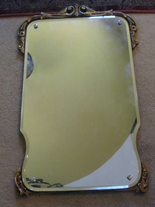 Antique Mirror Beveled Edge