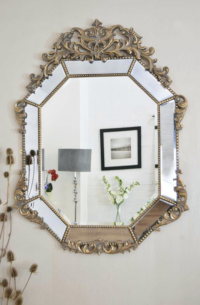 Antique Wall Mirrors Decorative