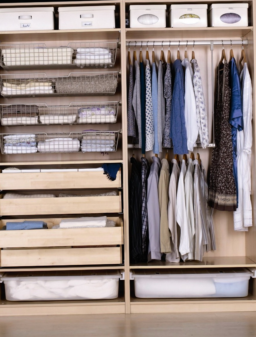 Bedroom Closet Shelving Ideas