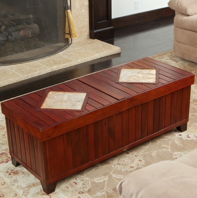 Bench Coffee Table With Storage