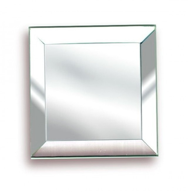 Beveled Edge Mirror Solid Core Chrome Plycor Interior Sliding Door