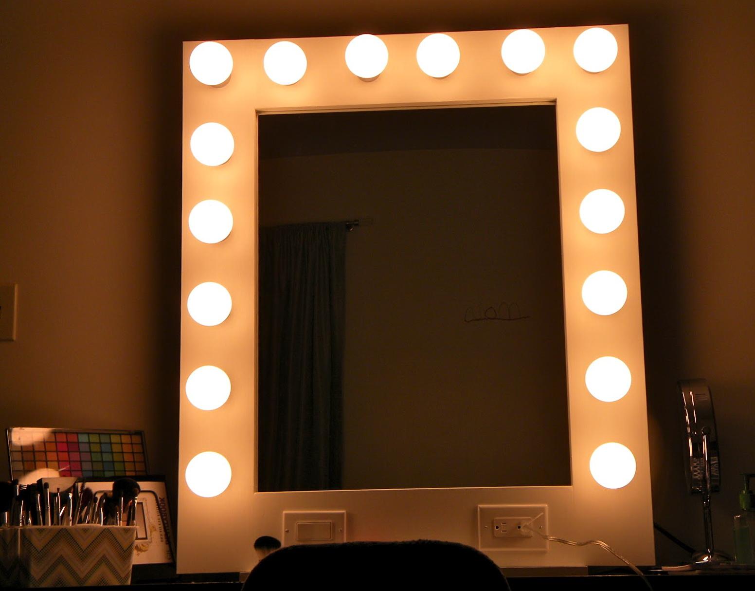 Broadway Lighted Vanity Mirror Ebay