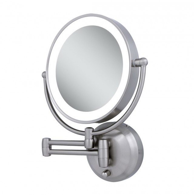 Broadway Lighted Vanity Mirror Wall Mount