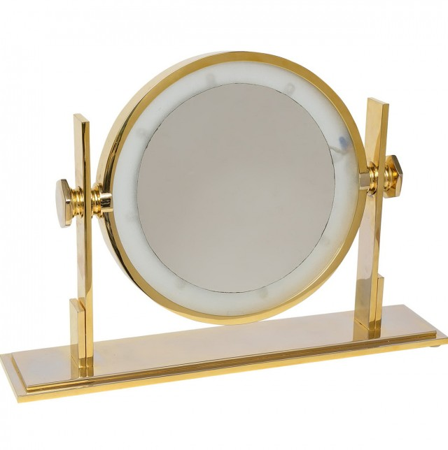 Broadway Table Top Lighted Vanity Mirror