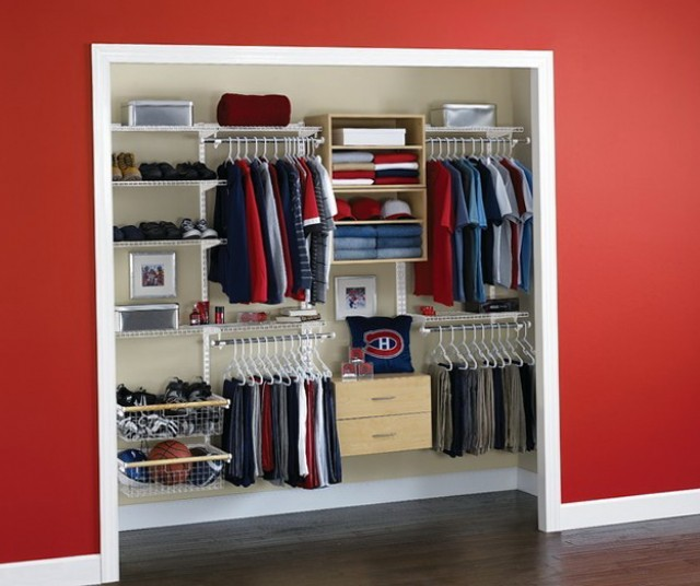 Built In Closet Cabinet Designs