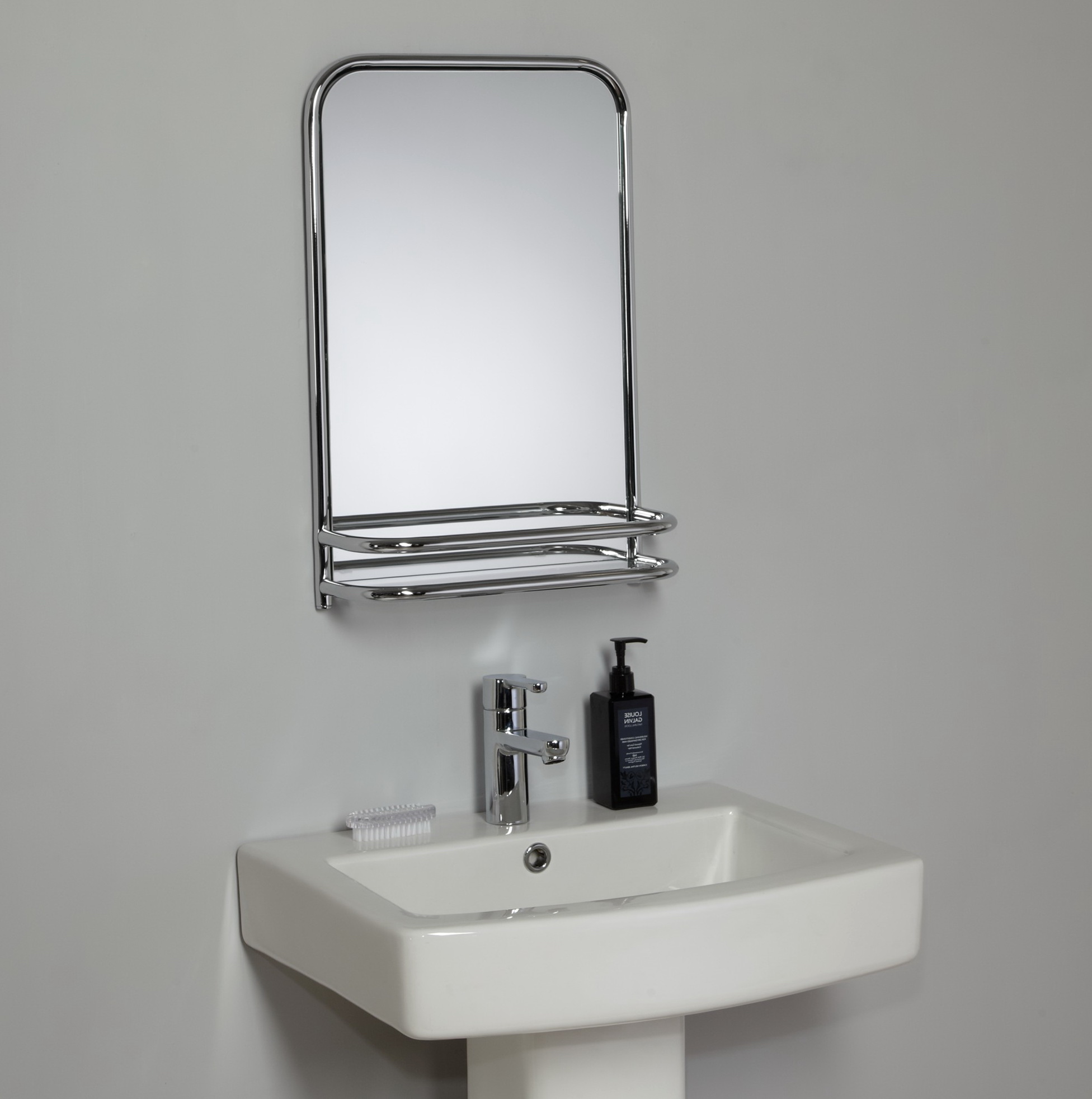 Cheap Bathroom Mirrors With Shelf