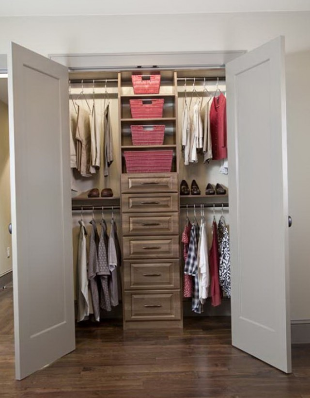 Closet Shelving Ideas Small Closets