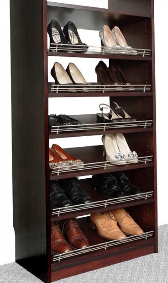 Closet Shoe Rack Ideas