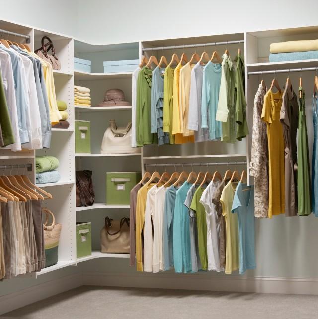 Corner Closet Organizer Home Depot