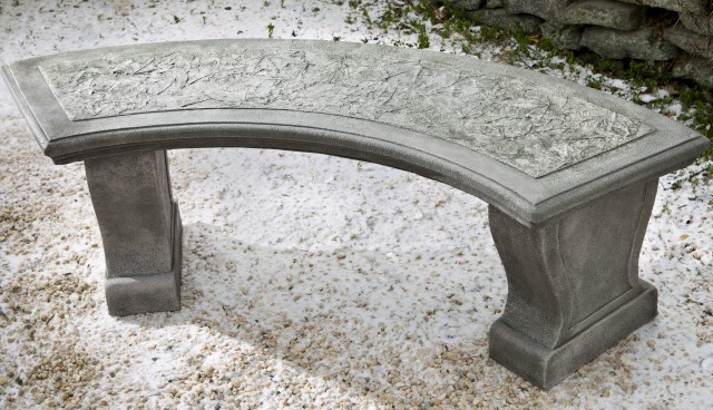 Curved Outdoor Bench Cushion
