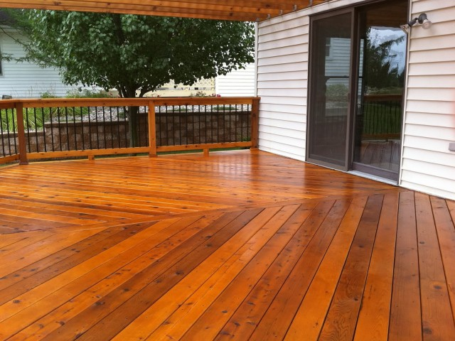 Deck Stain Colors For Treated Pine