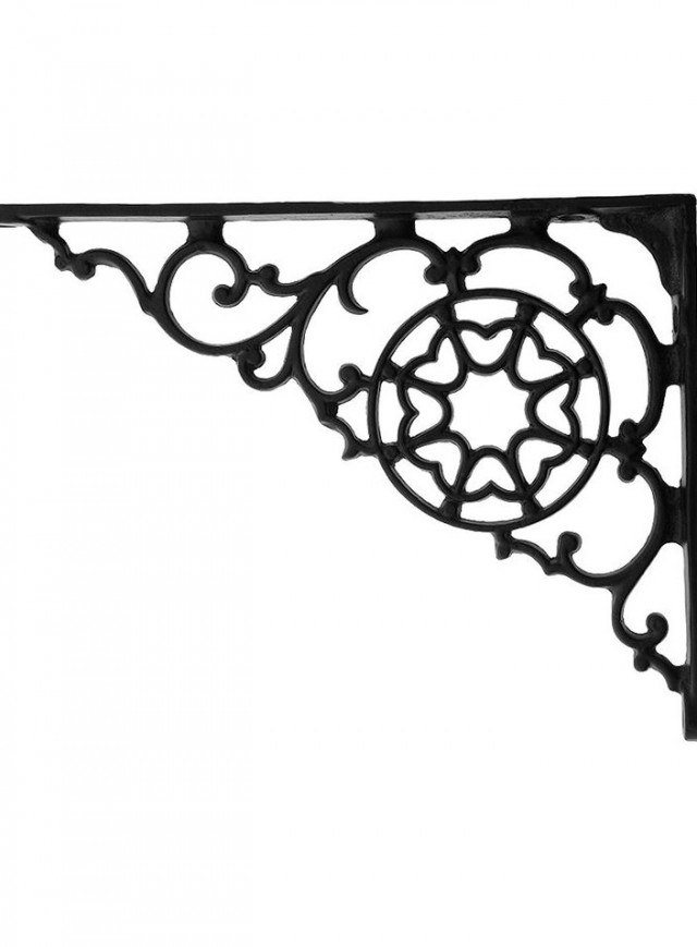 Decorative Closet Rod Brackets