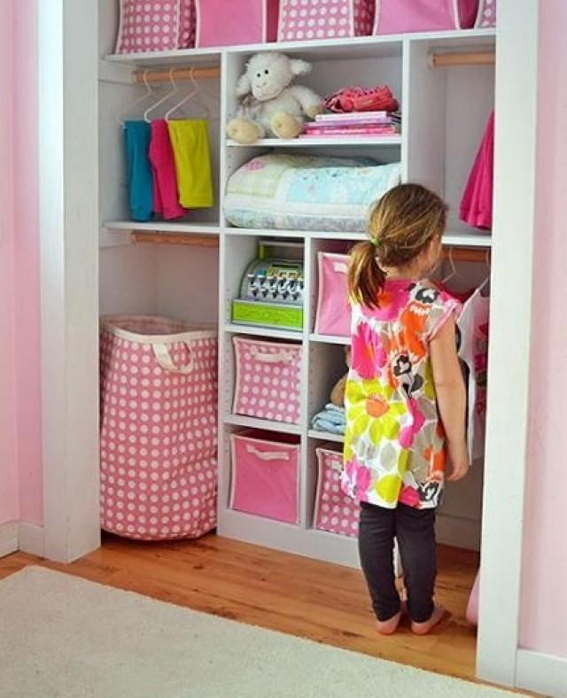 Diy Kids Closet Organizer