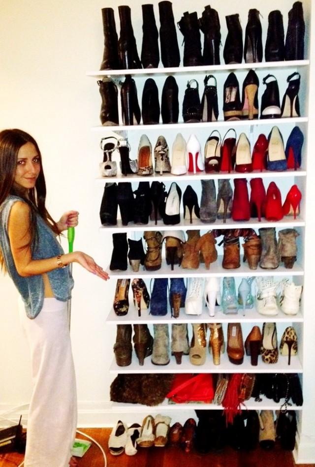 Diy Shoe Shelves For Closet