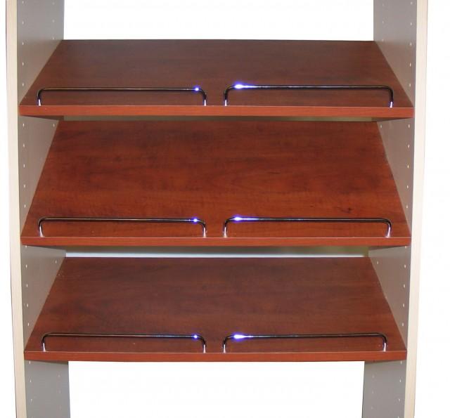 Easy Track Closet Shelves