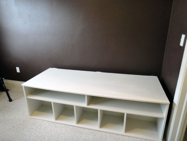 Extra Long Storage Bench
