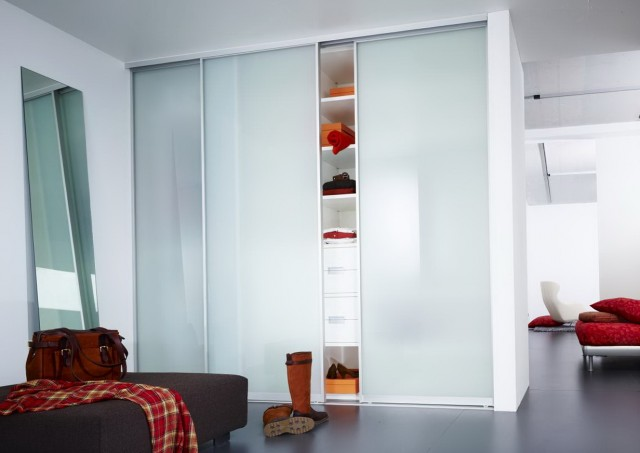 Glass Closet Sliding Doors