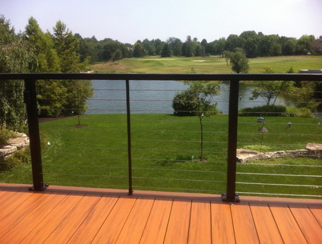 Glass Deck Railing Lowes