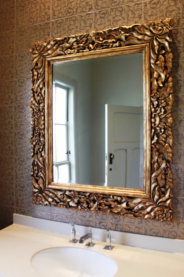 Gold Framed Mirror Ikea