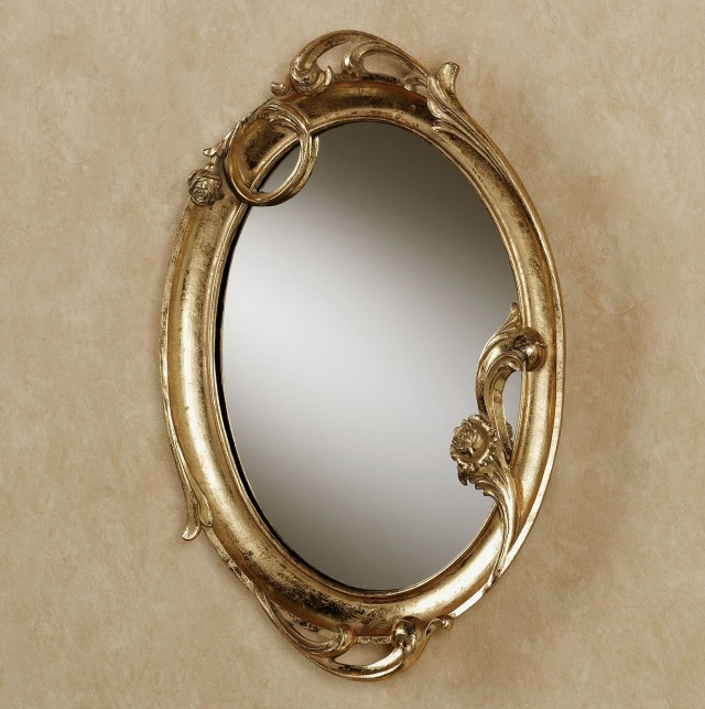 Gold Framed Wall Mirrors