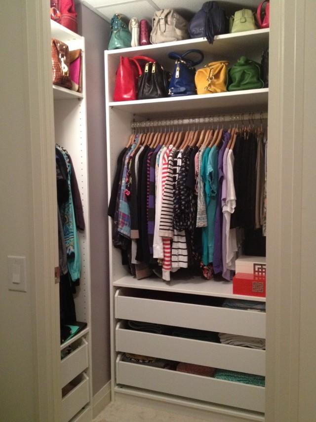 Ikea Closet Organizer Walk Closet