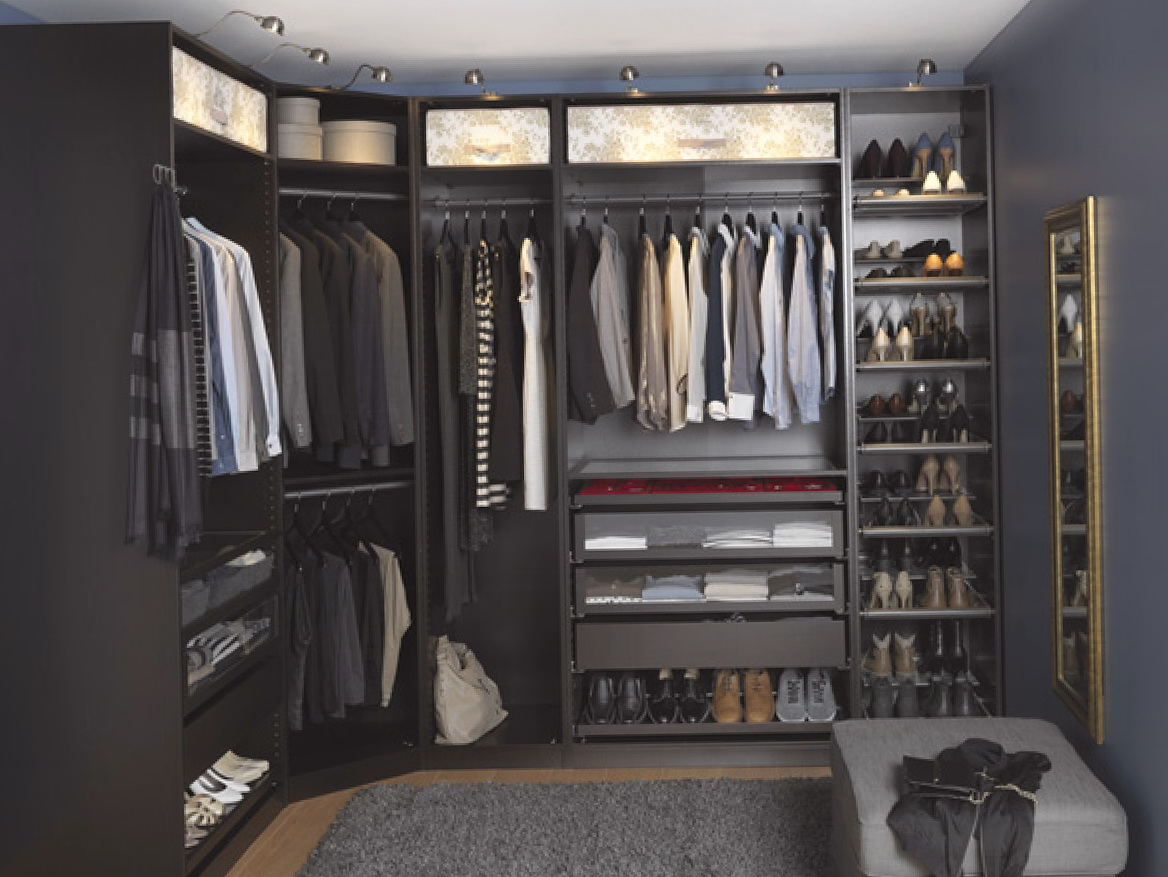 Ikea Closet Systems Walk In