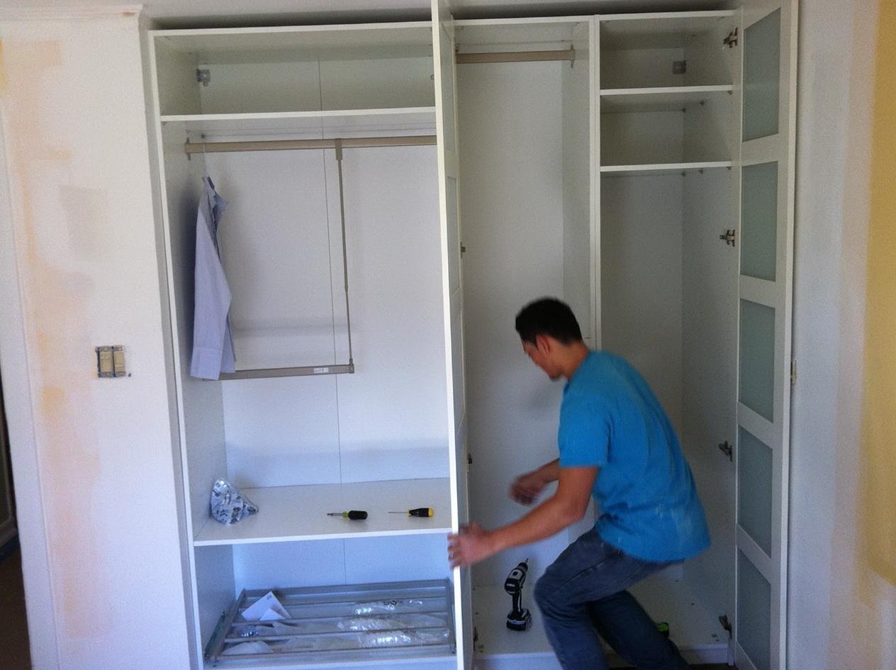 Ikea Pax Closet Organizer