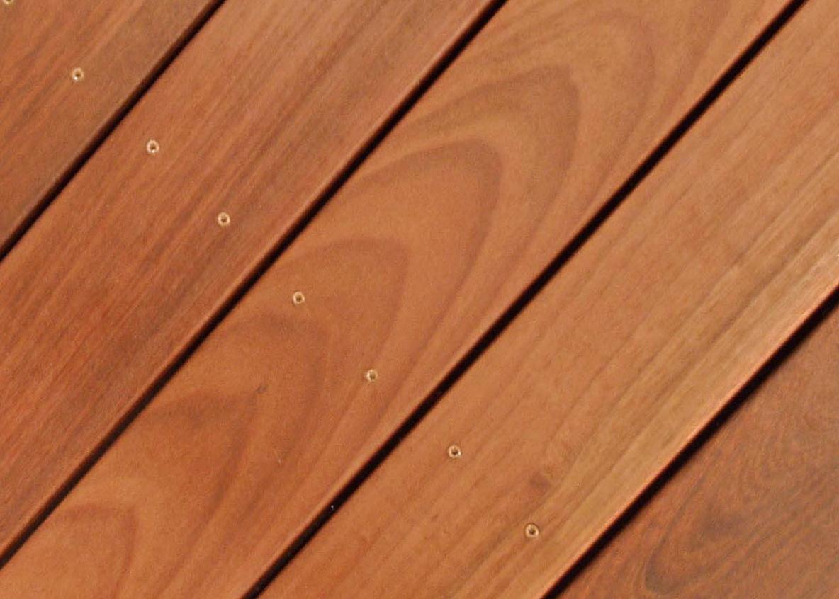 Ipe Wood Decking Texture