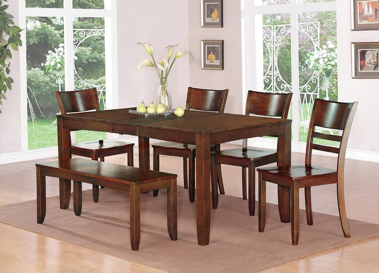 Kitchen Table Sets With Bench Seating