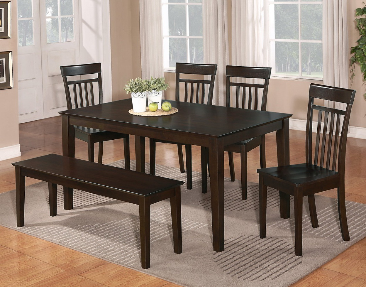 Kitchen Table With Bench Seating And Chairs