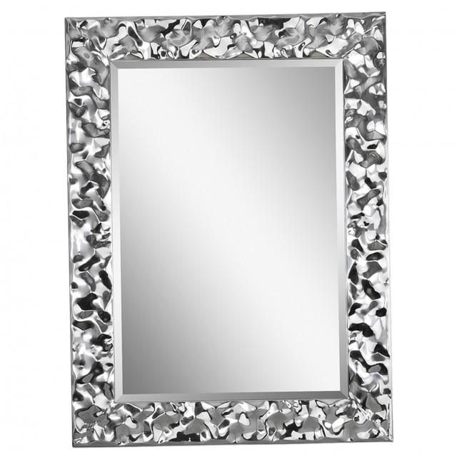 Long Silver Wall Mirror