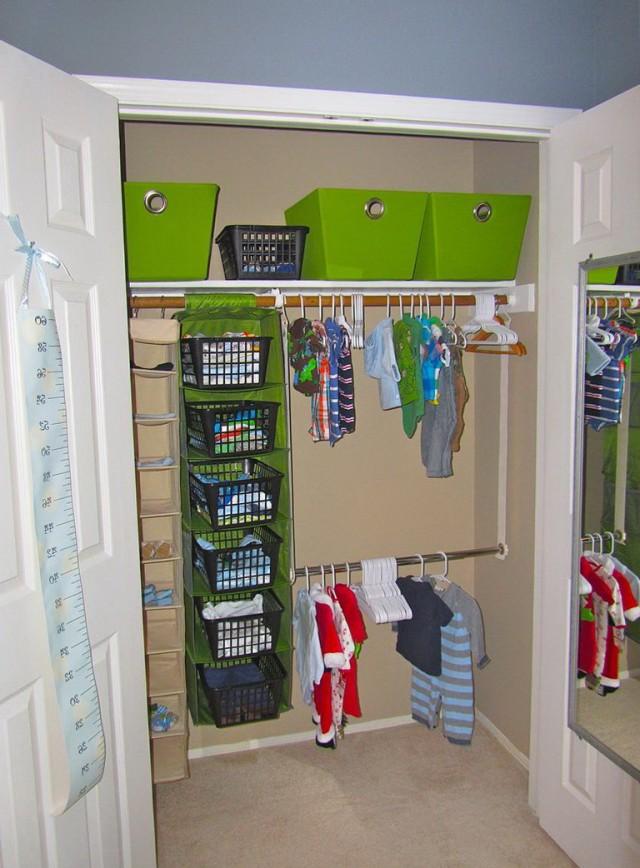 Nursery Closet Organizer Ideas